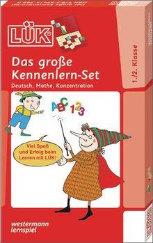 LÜK-Sets: LÜK: Das große Kennenlern-Set: Deutsch, Mathe, Konzentration für Klasse 1 und 2
