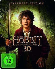 Der Hobbit: Eine unerwartete Reise Extended Edition 2D/3D BD Steelbook (exklusiv bei Amazon.de) [3D Blu-ray]