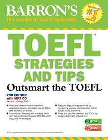 TOEFL Strategies and Tips with MP3 CD: Barron's Test Strategies and Tips with Audio CDs (Outsmart the Toefl)
