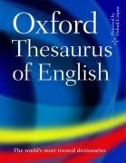 The Oxford Thesaurus of English (Diccionarios)