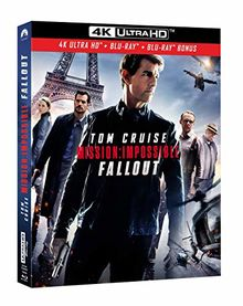 Mission impossible 6 : fallout 4k ultra hd [Blu-ray]