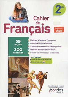 Français 2de : Cahier d'exercices