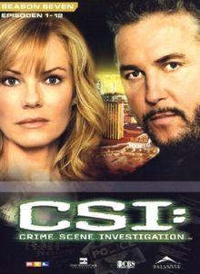 CSI: Crime Scene Investigation - Season 7.1 (3 DVDs)