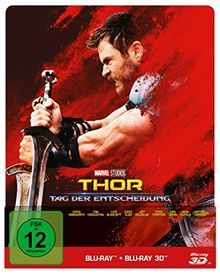 Thor: Tag der Entscheidung 3D + 2D Steelbook [3D Blu-ray] [Limited Edition]