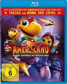 El Americano - Kleiner Superheld mit großem Herz (Erstauflage mit tollen Sticker-Tattoos) [Blu-ray]