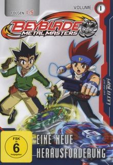 Beyblade Metal Master - Volume 1 (Folgen 1-5)