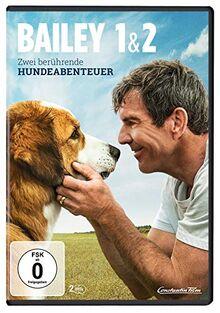 Bailey 1 & 2 - Zwei berührende Hundeabenteuer [2 DVDs]