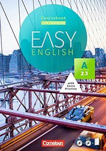 Easy English: A2: Band 1 - Kursbuch - Kursleiterfassung: Mit Audio-CD, Phrasebook, Aussprachetrainer und Video-DVD