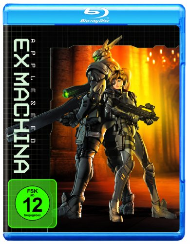 appleseed ex machina blu ray von shinji aramaki. Black Bedroom Furniture Sets. Home Design Ideas