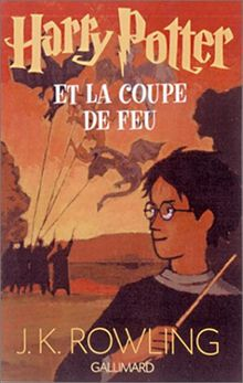 Harry Potter Tome 4 Harry Potter Et La Coupe De Feu De