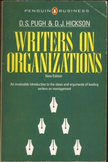 Writers On Organizations: An Introduction (Penguin Business)