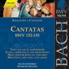 Edition Bachakademie Vol. 47 (Geistliche Kantaten Bwv 152-155)