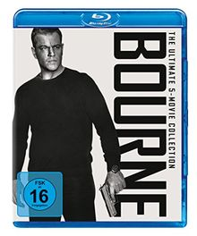 Bourne - The Ultimate 5-Movie-Collection [Blu-ray]