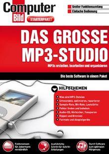 Das große MP3-Studio (Computer Bild)