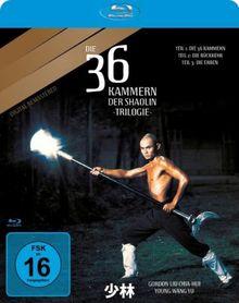 Die 36 Kammern der Shaolin-Trilogie [Blu-ray]