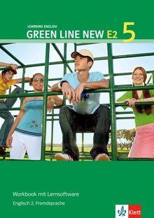 Green Line New E2. Englisch als 2. Fremdsprache. Für den Beginn in den Klassen 5 oder 6: Green Line New E2. Band 5. Workbook und CD-ROM: Englisch als ... an Gymnasien, mit Beginn in Klasse 5 oder 6