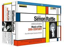 Sir Simon Rattle dirigiert und erkundet Musik des 20. Jahrhunderts [3 Blu-rays]