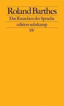 Das Rauschen der Sprache: Kritische Essays IV: BD IV (edition suhrkamp)