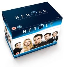 Heroes - Seasons 1-4 [Blu-ray] [UK Import]