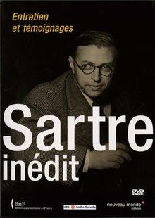 Sartre inedit DVD. entretiens et témoignages