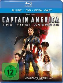Captain America - The First Avenger (+ DVD) [Blu-ray]