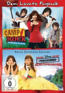 Camp Rock / Prinzessinnen Schutzprogramm [2 DVDs]