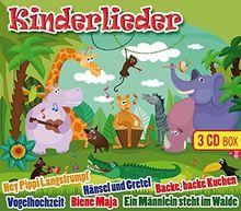 Kinderlieder (inkl. Vogelhochzeit, Backe backe Kuchen, Hey Pippi Langstrumpf, uva.)