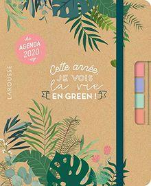 Green agenda 2020: Cette année je vois la vie en green ! (Calendrier - Nature (31265))