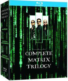 The Matrix Trilogy (The Matrix, Matrix Revolutions, Matrix Reloaded) [Blu-ray] [UK Import]