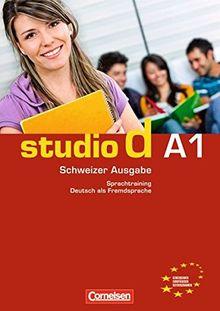 studio d - Schweiz: A1: Gesamtband - Sprachtraining mit eingelegten Lösungen