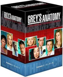 Coffret grey's anatomy, saisons 1 à 4 [FR Import]