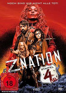 Z Nation - Staffel 4 (4 DVDs / UNCUT-Edition)