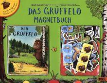 Das Grüffelo Magnetbuch: Mit 60 Magneten und Mini-Bilderbuch im Spielbuchkoffer: Vierfabiger Spielbuch-Koffer