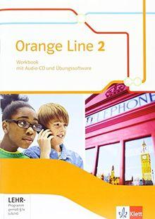 Orange Line / Workbook mit Audio-CD und Übungssoftware 6. Schuljahr: Ausgabe 2014 / Ausgabe 2014