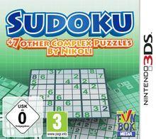 Sudoku + 7 other Complex Puzzles by Nikoli - [Nintendo 3DS]