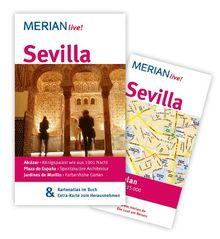 Sevilla: Mit Kartenatlas im Buch und Extra-Karte zum Herausnehmen (MERIAN live)