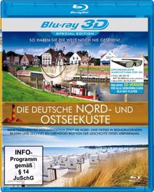 Die deutsche Nord- und Ostseeküste [3D Blu-ray]