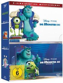 Die Monster Uni / Die Monster AG [2 DVDs]