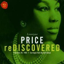 Leontyne Price reDiscovered - Carnegie Hall Recital Debut