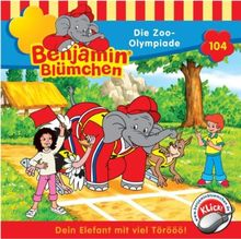 Benjamin Blümchen 104. Die Zoo-Olympiade. CD
