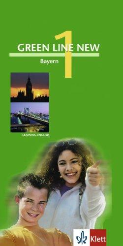 Green Line New - Ausgabe Bayern. Englisches Unterrichtswerk für Gymnasien: Green Line New 1. Vokabel-Lernbox Bayern