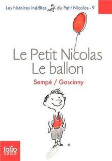 Le Petit Nicolas - Le ballon (Folio Junior)