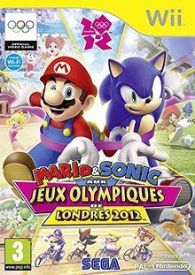 Third Party - Mario & Sonic aux Jeux Olympiques de Londres 2012 Occasion [ Nintendo WII ] - 5055277013678