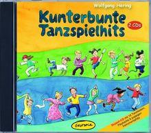 Kunterbunte Tanzspielhits - Doppel-CD: Doppel-CD mit 16 Tanzliedern, Playbacks & poppigen Instrumentalhits