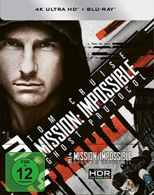 Mission: Impossible 4 - Phantom Protokoll (4K Ultra HD) (+ Blu-ray) limitiertes Steelbook (exklusiv bei Amazon.de)