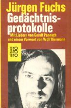 Gedächtnisprotokolle. Mit Liedern von Gerulf Pannach