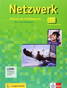Netzwerk / Kurs- und Arbeitsbuch A2, Teilband 2 mit 2 Audio-CDs und DVD: Deutsch als Fremdsprache
