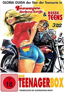 Die Teenager-Box (Kesse Teens - Teenager lieben heiss plus Bonus DVD)