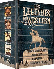 Coffret les légendes du western