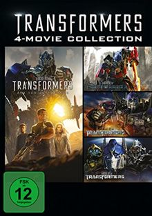 Transformers 1-4 [4 DVDs]